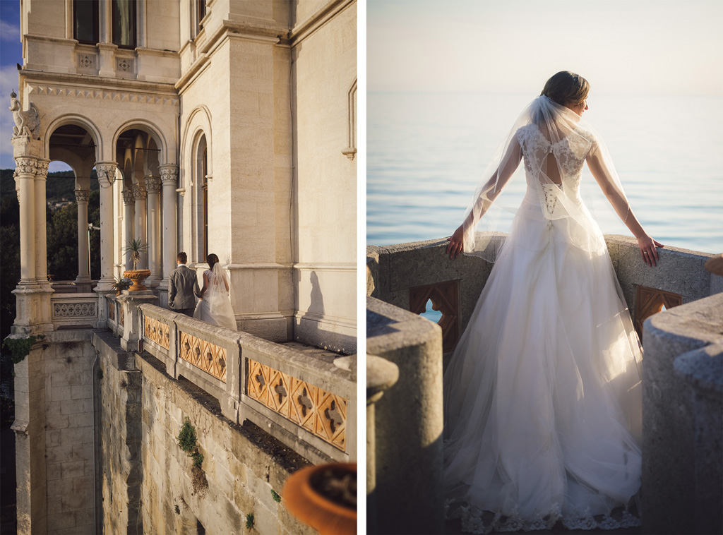 Miramare castle pre wedding shooting