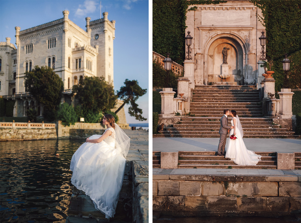 Miramare Castle Wedding Photographer